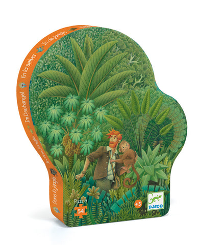 The Jungle 54pc Silhouette Puzzle