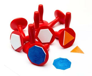 Geometric Stampers - Set of 10 Shapes