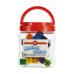 Linking Cubes Jar of 100