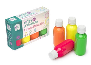 Fluoro Paint 100ml Set of 4