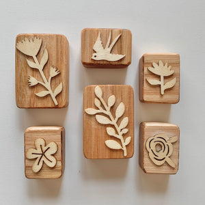 Garden Playdough Stampers