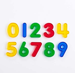 Transparent Numbers 0-9