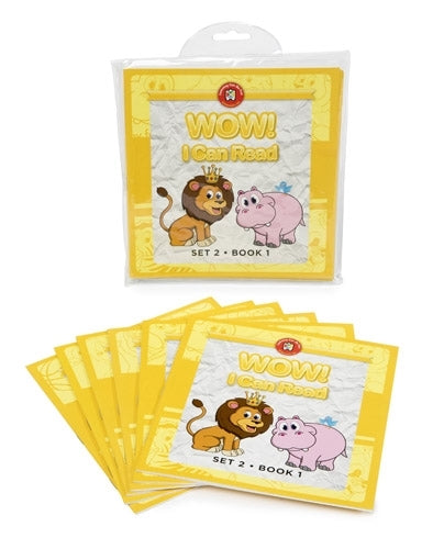 WOW I Can read Book - Set 2