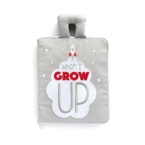 When I Grow Up Fabric Quiet Book