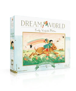 Dream World 200 Pc Puzzle - Jackalope Day Dream