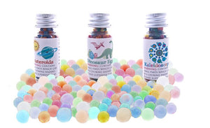 Water Marbles - Dinosaurs and Asteroids Trio