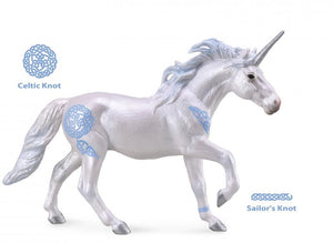 CollectA - Blue Unicorn Stallion
