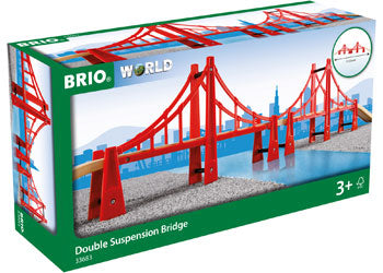 BRIO Bridge - Double Suspension Bridge