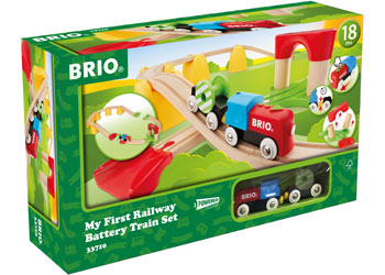 BRIO My First - My First Railway Battery Operated Train Set