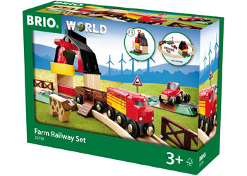 BRIO Set - Farm Railway Set