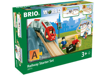 BRIO Set - Railway Starter Set 26pieces
