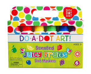 Do-A-Dot Art Markers - Juicy Fruits 6 Pack