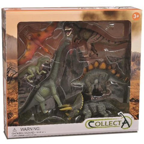 CollectA - Prehistoric Gift Set (6 Dinosaurs)