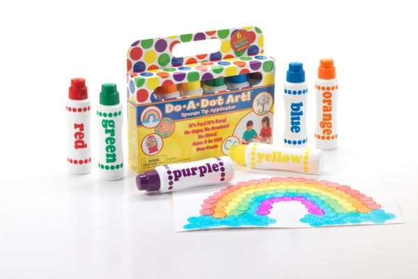 Do-A-Dot Art Markers - Rainbow 6 Pack