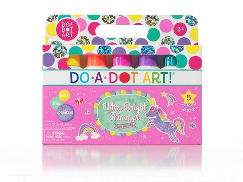 Do-A-Dot Art Markers - Bright Shimmer 5 Pack