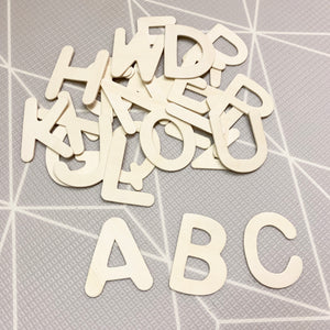 Extra Large Wooden Alphabet