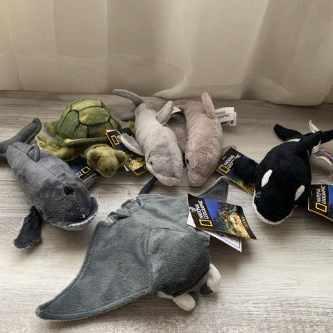 National Geographic Ocean Plush