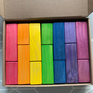 PREORDER Mixed Square Prism Blocks