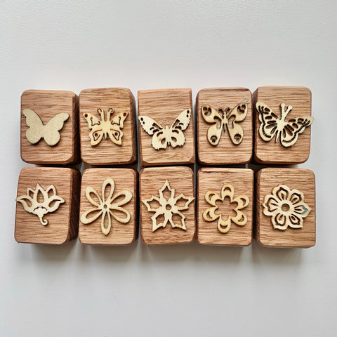 Butterfly Garden Playdough Stampers