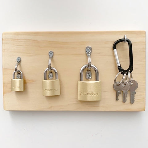 Montessori Lock Board
