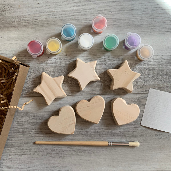 Do-it-Yourself Hearts + Stars