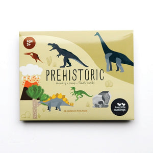 Prehistoric Snap and Memory Game