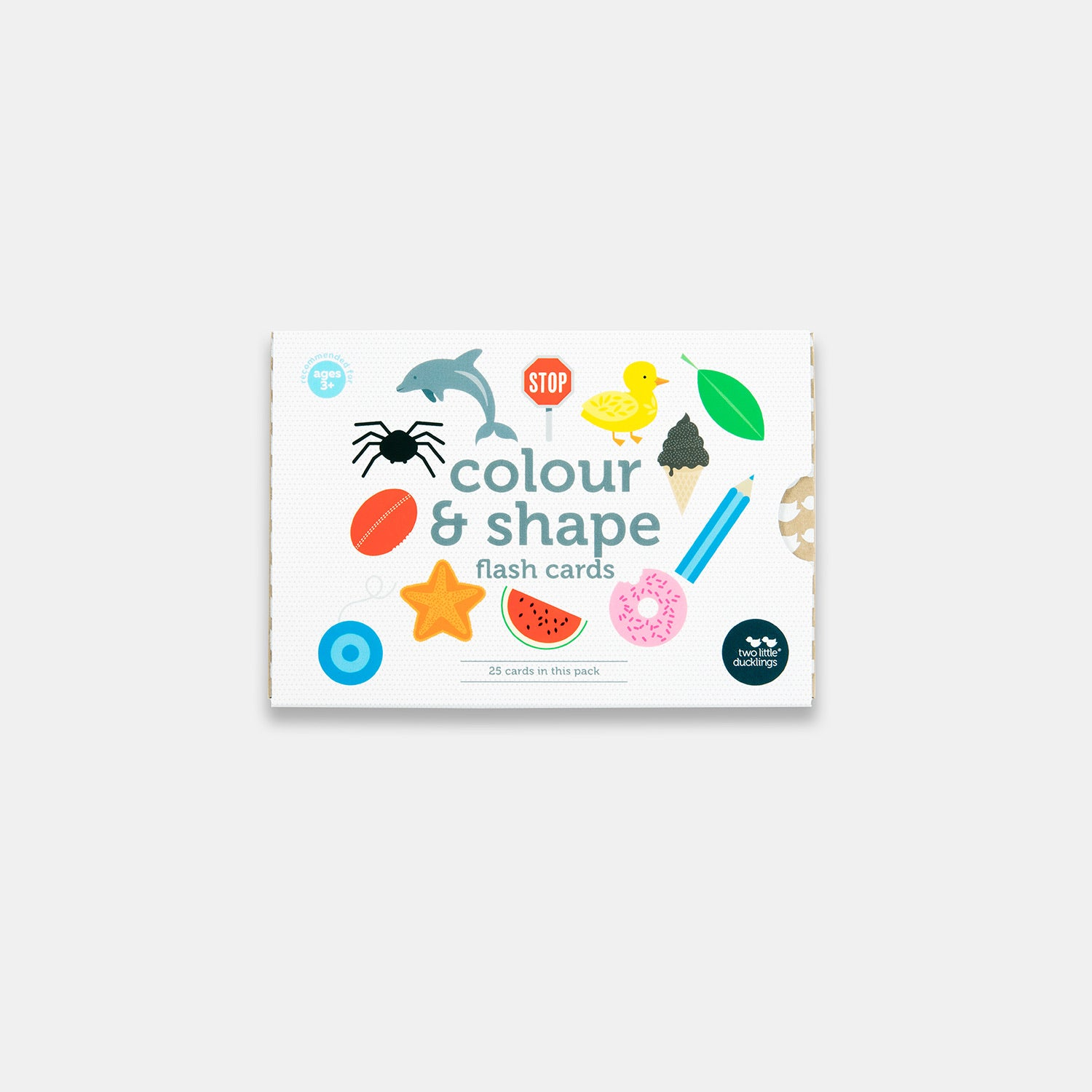 Colour and Shape Flash Cards