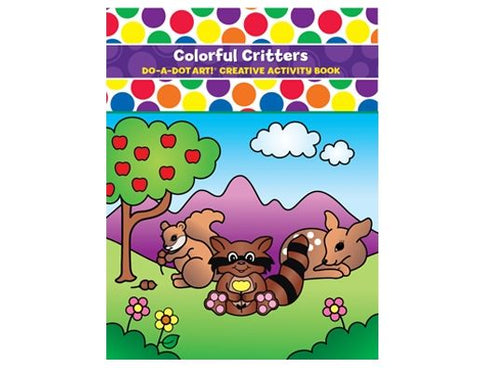 Do-A-Dot Art Book - Colourful Critters