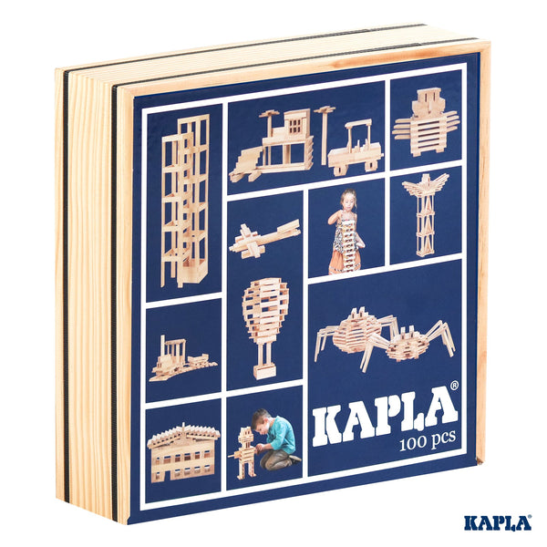 Kapla Natural - 100 Pieces in a Box