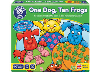 Orchard Game - One Dog Ten Frogs