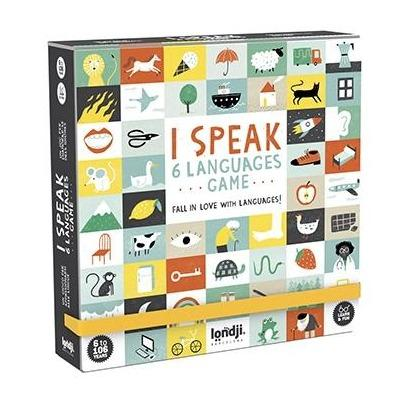 Londji Game - I Speak 6 Languages
