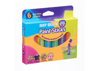 Little Brian Paint Sticks - Day Glow (6)