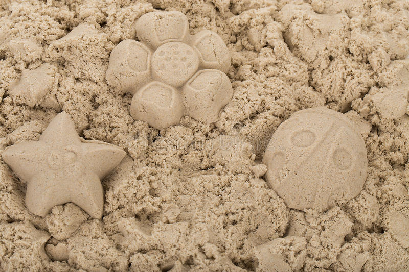 Sensory Magic Sand with Moulds - 2kg Natural
