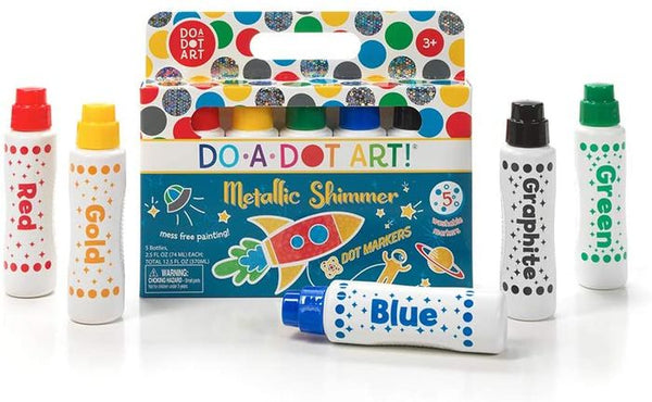 Do-A-Dot Art Markers - Metallic Shimmer 5 Pack