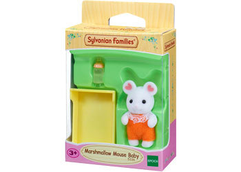 Sylvanian Families - Marshmallow Mouse Baby