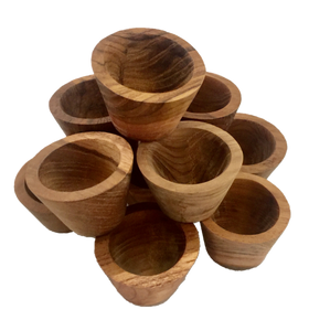 Mini Wooden Bowls