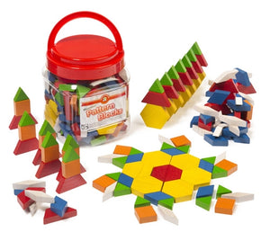 Wooden Pattern Blocks (126)