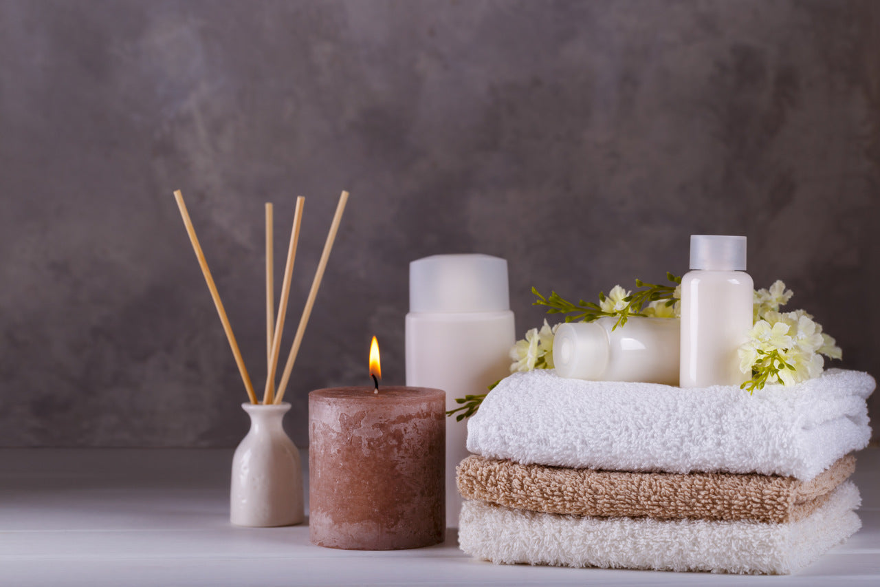 spa and wellness with Turkish towels