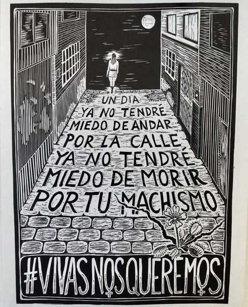 Blog: Mujeres Grabando Resistencias- Printmaking as an Act of Resistance
