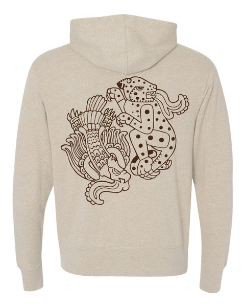 "Los Nativos ""The Eagle & the Jaguar"" Hoody"