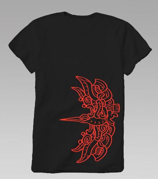 """Hummingbird"" Shirt Black"