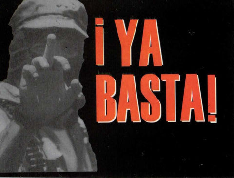 Ya Basta Sticker