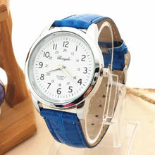 Load image into Gallery viewer, 2017 mens fashion watches relojes hombre Elegant Analog Luxury geneva watches men PU Leather Strap Quartz Mens Wrist Watch