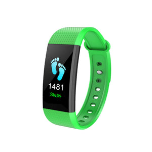 Smart Watch Heart Rate Monitor Color Screen Sport Watch Pedometer Monitor Smart Band Bracelet