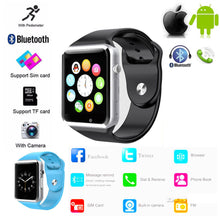 Load image into Gallery viewer, A1 Smart Watch Bluetooth Sports Gsm Phone Mate Smart Wristwatch For Android