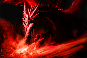 Red Ice Dragon