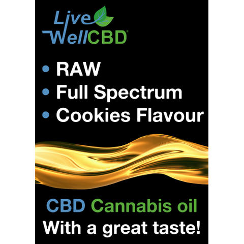 Live Well CBD RAW Oral (Cookie flavour)