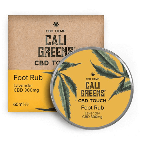 Cali Greens Foot Rub Lavender 60ml CBD Touch - 300mg