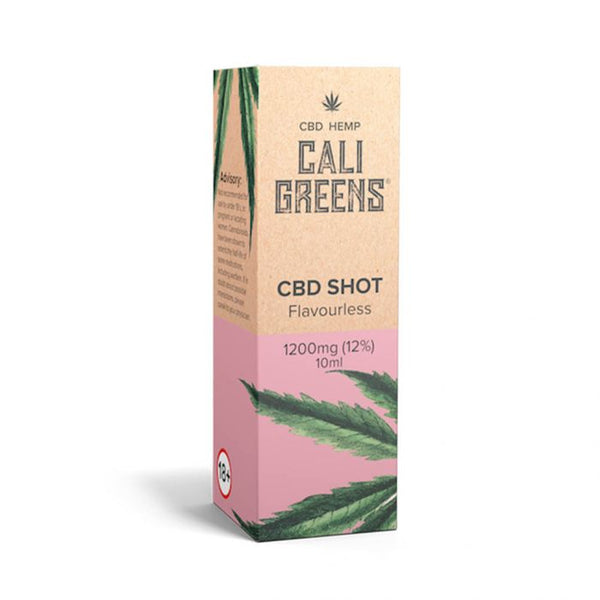 Cali Greens Flavourless Shot 10ml CBD E-Liquid - 1200mg