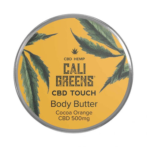 Cali Greens Body Butter Cocoa Orange 100ml CBD Touch - 500mg